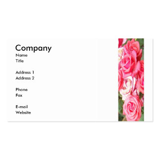 Band of Rose Double-Sided Standard Business Cards (Pack Of 100)