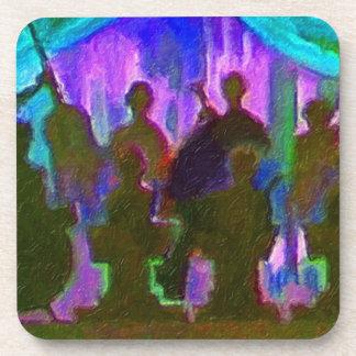 Band Painting Coaster