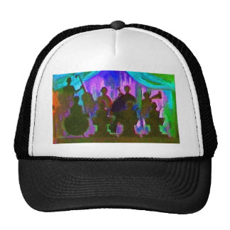 Band Painting Hat