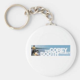 Band Pic & Logo Merch Basic Round Button Key Ring