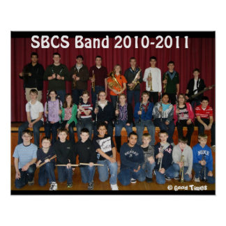 Band Poster 2010-2011