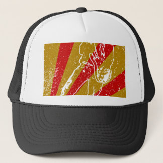 Band Poster Background Trucker Hat