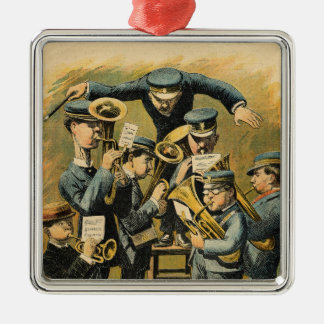 Band rehearsal christmas ornament