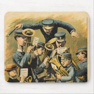 Band rehearsal mouse mat