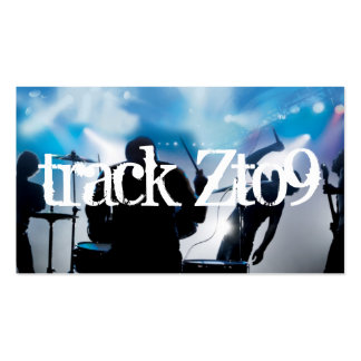 Band Rock Singers Performance Entertainment Business Card