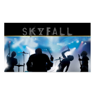 Band, Rock, Singers Performance Entertainment Pack Of Standard Business Cards
