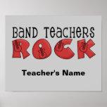 Band Teacher Customisable Poster