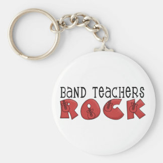 Band Teachers Rock Tshirts and Gifts Key Ring