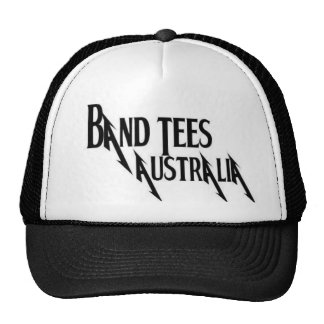 Band Tees Australia Cap Trucker Hat