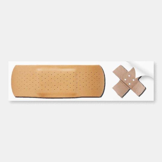Bandage Bumpersticker Bumper Sticker