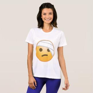 Bandage Face Emoji T-Shirt