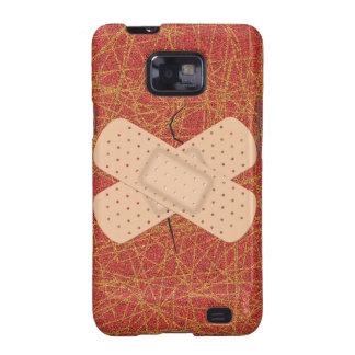 Bandage On A Crack Samsung Galaxy SII Cases