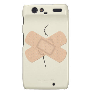 Bandage On A Crack Droid RAZR Cover