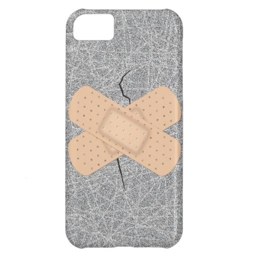Bandage On A Crack iPhone 5C Cases
