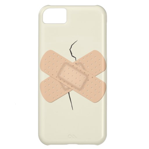 Bandage On A Crack iPhone 5C Covers