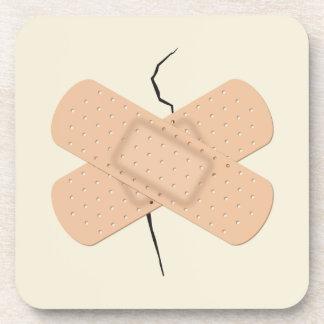 Bandage On A Crack Coasters