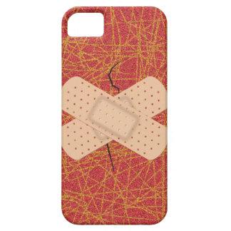 Bandage On A Crack iPhone 5 Case