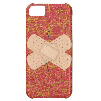 Bandage On A Crack iPhone 5C Case