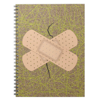 Bandage On A Crack Journal