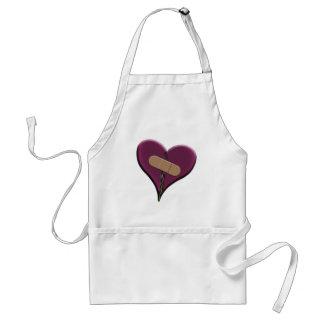 Bandaid Heart Standard Apron