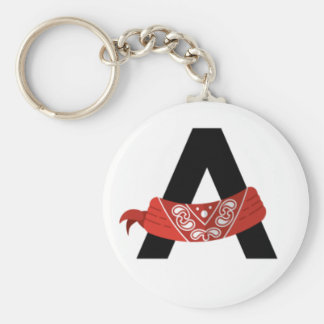 Bandana Army Keychain