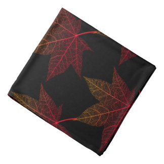 Bandana-Autumn Leaves Bandana
