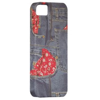 Bandana Faded Denim Jeans Case-Mate iPhone 5 iPhone 5 Cases