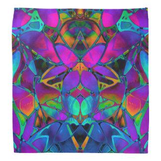 Bandana Floral Fractal Art