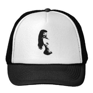 bandana girl cap