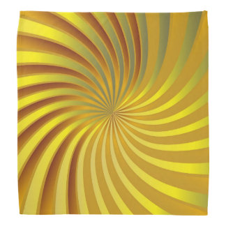 Bandana Gold Spiral Vortex