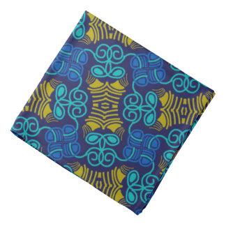 Bandana Jimette orange and blue Design