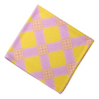 Bandana Jimette orange yellow pink Design