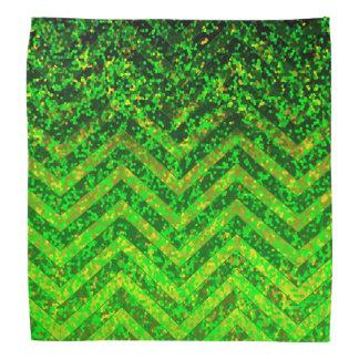Bandana Zig Zag Sparkley Texture