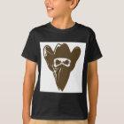 Bandanna Cowboy With Hat T-Shirt