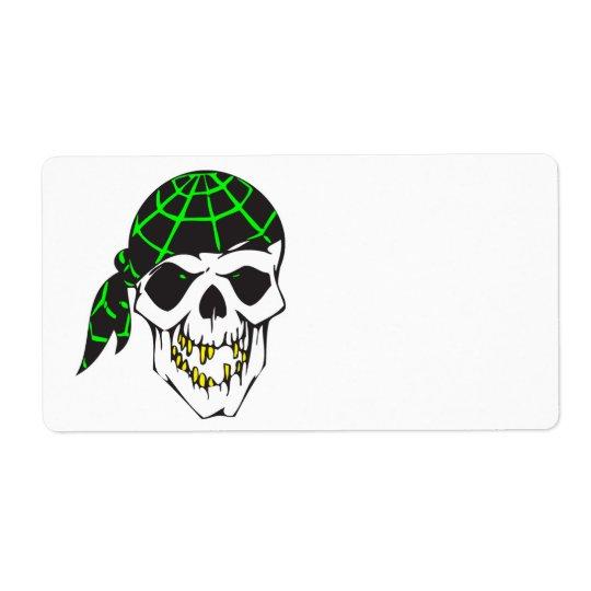 bandanna evil skull