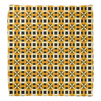 Bandanna Geometric 318 Black