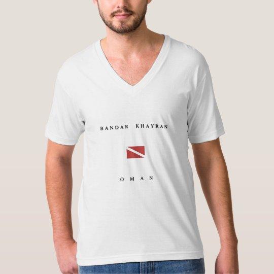 Bandar Khayran Oman Scuba Dive Flag T-Shirt