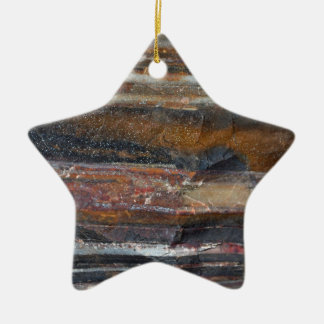 Banded Iron Formation Ornament