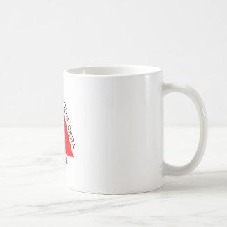 Bandeira de Minas Gerais, Brasil Basic White Mug