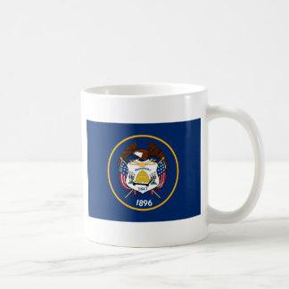Bandeira de Utah Classic White Coffee Mug