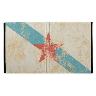 Bandeira Galega Estrelada iPad Folio Covers