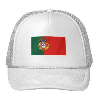 Bandeira Portuguesa Classica por Fás de Portugal Trucker Hat