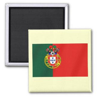 Bandeira Portuguesa Classica por Fás de Portugal Fridge Magnets