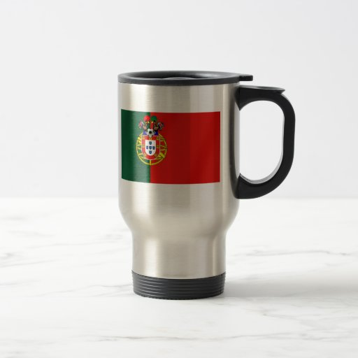 Bandeira Portuguesa Classica por Fás de Portugal Stainless Steel Travel Mug