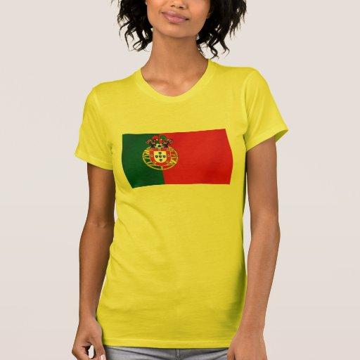 Bandeira Portuguesa Classica por Fás de Portugal Tee Shirts