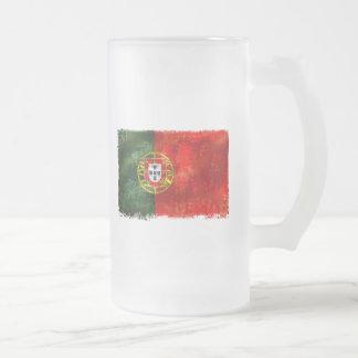 Bandeira Portuguesa - Estilo retro Coffee Mug
