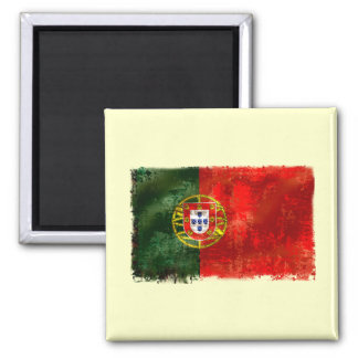 Bandeira Portuguesa - Estilo retro Refrigerator Magnet
