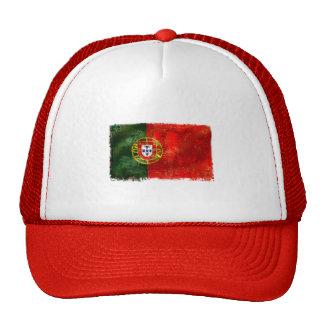 Bandeira Portuguesa - Estilo retro Mesh Hat