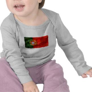 Bandeira Portuguesa - Estilo retro Tshirt