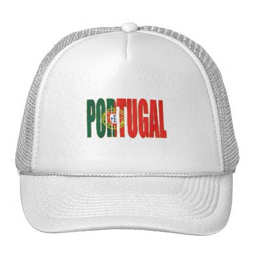 """Bandeira Portuguesa - Marca """"Portugal"""" por Fãs Hat"""